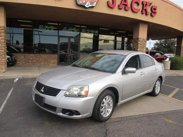 Pre-Owned 2009 MITSUBISHI GALANT 4DSD