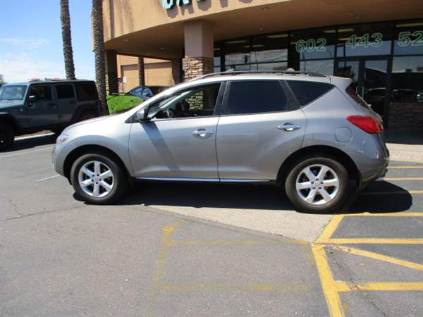 Pre-Owned 2009 NISSAN MURANO 4DSW