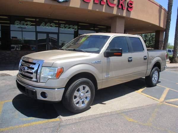 Pre-Owned 2012 FORD F-150 4 DOOR CAB; STYLESIDE; SUPER CR